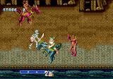Golden Axe Genesis Gilius in action