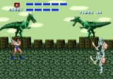 Golden Axe Genesis ..vs two skeletons
