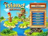 Island Realms Windows Main menu