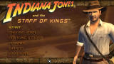 Indiana Jones and the Staff of Kings PSP Title screen