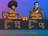 Ready 2 Rumble Boxing: Round 2 PlayStation Afro Thunder vs. Michael Jackson