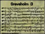 The Mystery at Greveholm 3: The Old Legend Windows Title screen (showing the lost sheet of music)