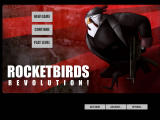Rocketbirds: Revolution! Browser Main menu (after logging in).
