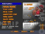Ready 2 Rumble Boxing PlayStation Management screen