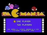 Pac-Mania NES Title screen