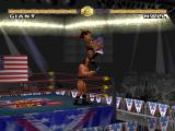 WCW Nitro PlayStation Falling punch