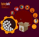 Factory Balls 2 Browser A lot of tools to choose from.