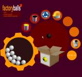 Factory Balls 2 Browser Only a small part has to be black.