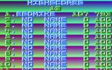 Emerald Mine Amiga Your deeds will be remembered in this high score list with its old-school copper effect.
