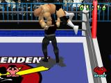 WCW vs. the World PlayStation Luger lifted by Sting.