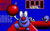 Bombuzal Amiga Title screen.