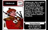 Where in Europe is Carmen Sandiego? DOS Scotland
