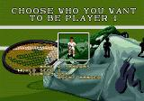 Pete Sampras Tennis Genesis player selection