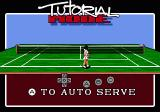 Pete Sampras Tennis Genesis tutorial mode