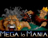 Mega lo Mania Amiga Title screen