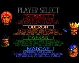 Mega lo Mania Amiga Player select