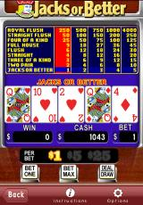 Astraware Casino iPhone Video Poker