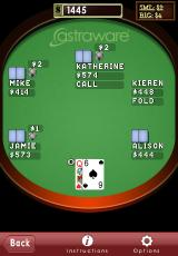 Astraware Casino iPhone Texas Hold-Em