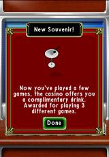 Astraware Casino iPhone Winning a souvenir