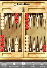 Astraware Boardgames iPhone Backgammon
