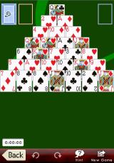 Astraware Solitaire iPhone Pyramid