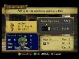Fire Emblem: Path of Radiance GameCube Awarding Experience.
