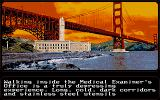Mean Streets Atari ST The Medical Examiner's office.