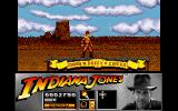 Indiana Jones and the Last Crusade: The Action Game Amiga Level 1 - On top of the circus train.