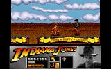 Indiana Jones and the Last Crusade: The Action Game Amiga Level 1 - Bad guys are also on the train.