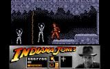 Indiana Jones and the Last Crusade: The Action Game Amiga Level 2 - Skeletons line the walls... Creepy.