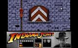Indiana Jones and the Last Crusade: The Action Game Amiga Level 2 - Climbing a rope.