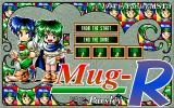 Mug-R PC-98 Title screen