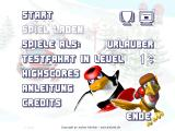 Pinguin vs. Yeti XXL Windows Main menu (demo version)