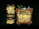 Tales of Monkey Island: Chapter 4 - The Trial and Execution of Guybrush Threepwood Windows Main menu.