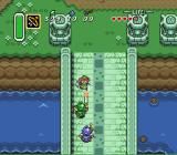 The Legend of Zelda: A Link to the Past SNES Fighting against a few soldiers