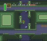 The Legend of Zelda: A Link to the Past SNES Dodging cannonballs inside the eastern dungeon