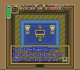 The Legend of Zelda: A Link to the Past SNES Finding the Power Glove in the Desert Palace