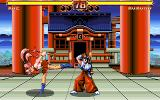 Valkyrie: The Power Beauties PC-98 Battle in front of a temple