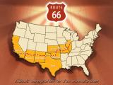 Route 66 Windows U.S. map