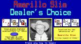 Amarillo Slim Dealer's Choice DOS Title screen