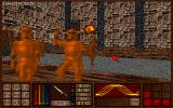 Amulets & Armor DOS One of the knights you are fighting has been hit by a fireball.