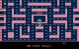 Ms. Pac-Man Atari 2600 Title screen / the game screen