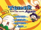 Tomak: Save the Earth, Again Windows Main menu