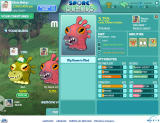 Spore Island Browser Change the stats of your creature.