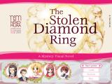 The Stolen Diamond Ring Windows Title screen.