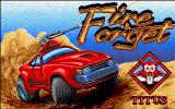 Fire and Forget Amiga Title screen