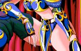 Wonpara Wars PC-98 The female general you'll have to defeat