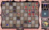 Wonpara Wars PC-98 The bishop is alone among enemy soldiers...