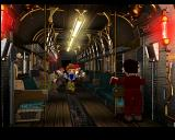 Final Fantasy VII PlayStation In a subway train. Without doubt, Midgar is an incredible location. Pity you are taken to a standard world map with tiny villages on it after you complete this part