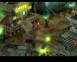 Final Fantasy VII PlayStation Typical Midgar district. The city oozes atmosphere